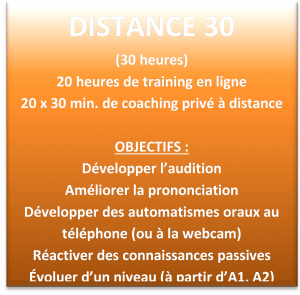 Distance 30