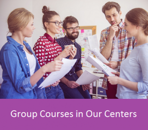 Group courses in our centers