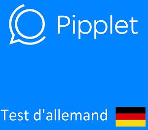 Test d'allemand