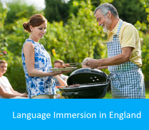 Immersion linguistique en Angleterre